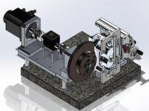 车轮制动盘拖滞力矩和DTV测试系统